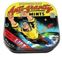 Anti-Gravity Mints and Comic Book Inspired Tin