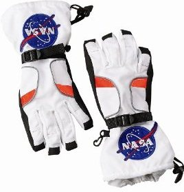 Best Childrens Halloween Costume of 2012 Astronaut and Deluxe Astronaut Gloves Accessory