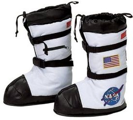 The Best Kids Halloween Costume of 2012 Astronaut Deluxe Boots Accessory