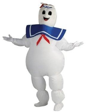 Biggest Halloween Costume of 2012 Stay Puft Marshmallow Man Inflatable Costume