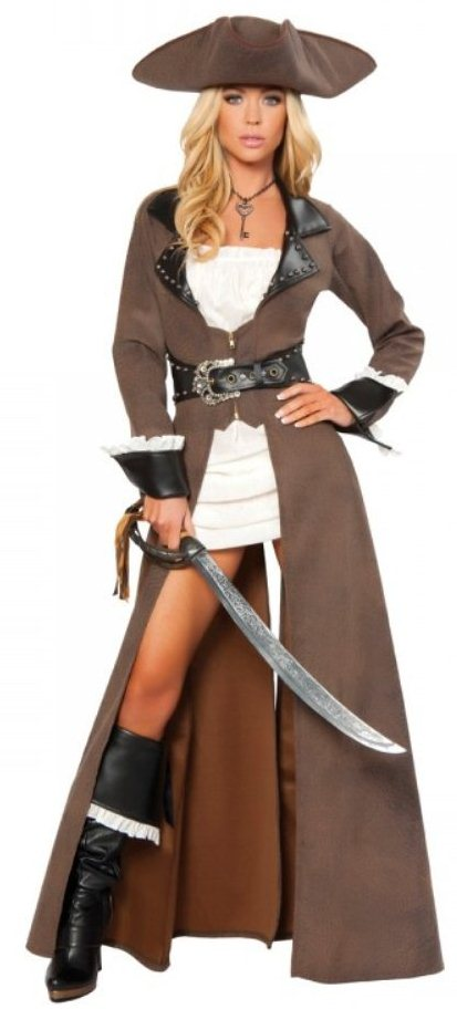 Strong is Sexy Women's Pirate Halloween Costume for sale
