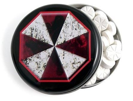 Resident Evil Umbrella Corporation Mints and Tin